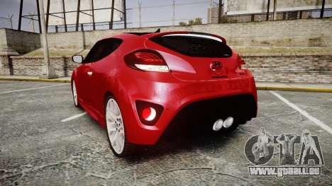 Hyundai Veloster Turbo 2012 für GTA 4 hinten links Ansicht