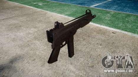 Gun SMT40 keine butt icon3 für GTA 4 Sekunden Bildschirm