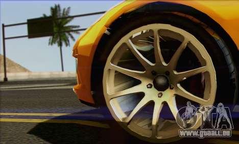 Invetero Coquette für GTA San Andreas zurück linke Ansicht