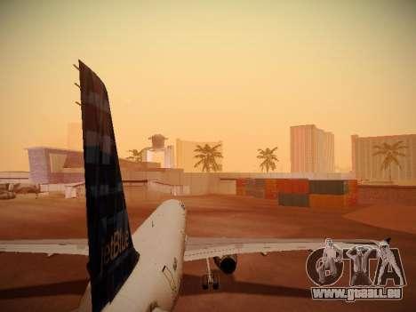 Airbus A321-232 jetBlue Whole Lotta Blue pour GTA San Andreas