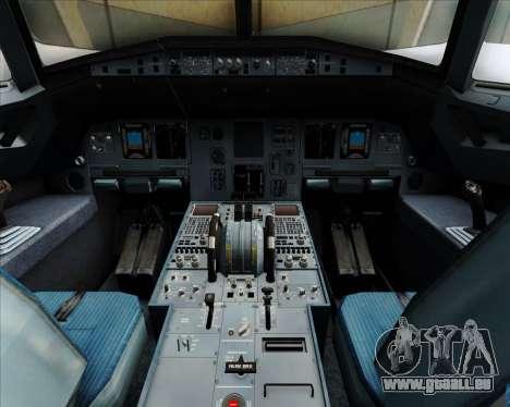 Airbus A320-200 Ansett Australia pour GTA San Andreas salon