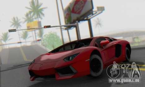 Lamborghini Avendator LP700-4 2012 für GTA San Andreas