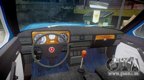 GAZ-24-12 Volga Wh1 pour GTA 4 Vue arrière