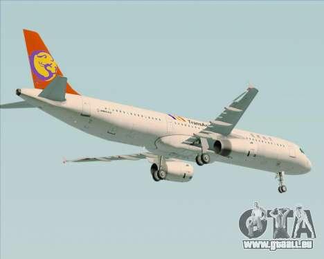 Airbus A321-200 TransAsia Airways für GTA San Andreas Seitenansicht