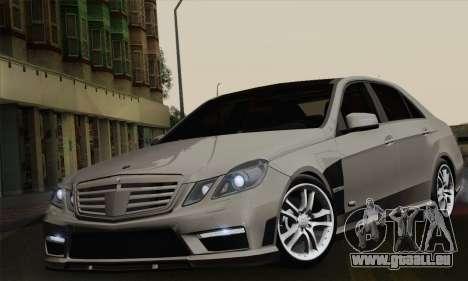 Mercedes-Benz W212 für GTA San Andreas