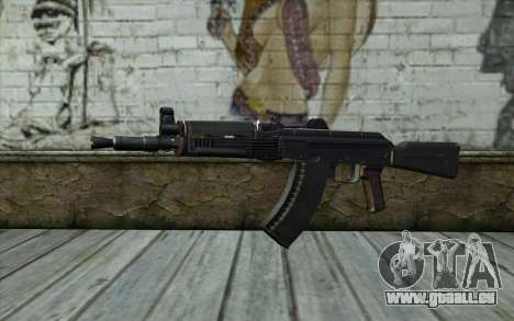 Moderne de l'AKS-74U pour GTA San Andreas