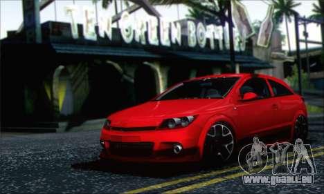 Opel Astra OPC für GTA San Andreas