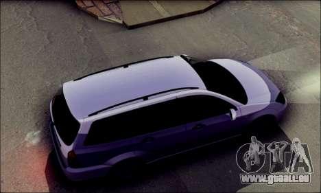 Ford Focus 1998 Wagon pour GTA San Andreas sur la vue arrière gauche