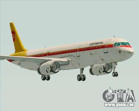 Airbus A321-200 Continental Airlines für GTA San Andreas