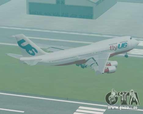 FlyUS pour GTA San Andreas laissé vue