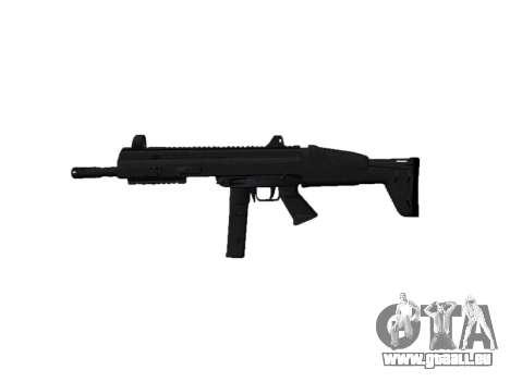 Pistolet SMT40 avec crosse icon2 pour GTA 4 troisième écran