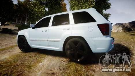 Jeep Grand Cherokee SRT8 stock für GTA 4 linke Ansicht