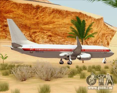 Boeing 737-800 EG&G - Janet pour GTA San Andreas