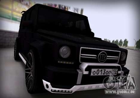 Brabus 800 pour GTA San Andreas