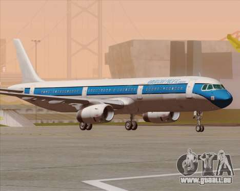 Airbus A321-200 American Pacific Airways für GTA San Andreas obere Ansicht