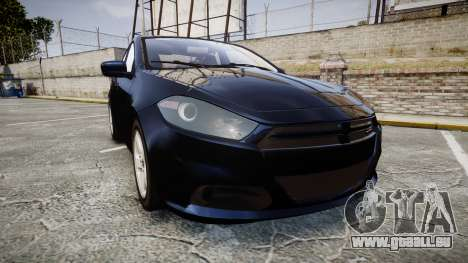 Dodge Dart 2013 Undercover [ELS] pour GTA 4