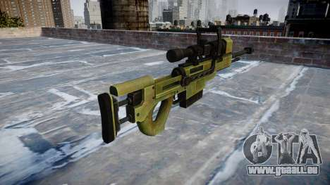 Gros calibre fusil de sniper pour GTA 4 secondes d'écran