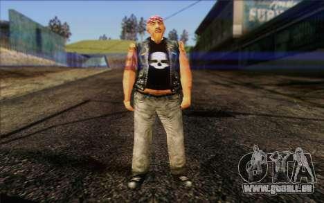 Biker from GTA Vice City Skin 1 pour GTA San Andreas