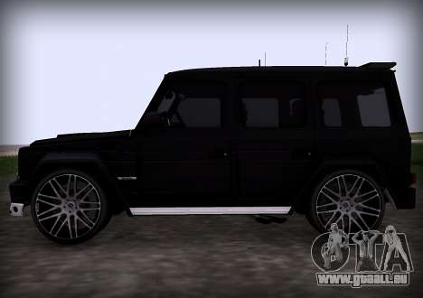 Brabus 800 pour GTA San Andreas vue arrière