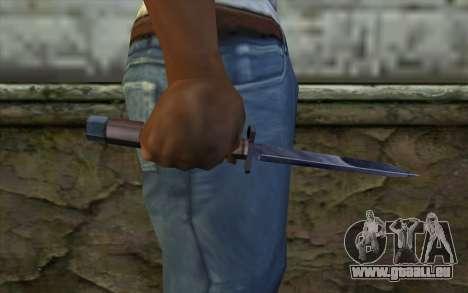 American couteau pour GTA San Andreas troisième écran