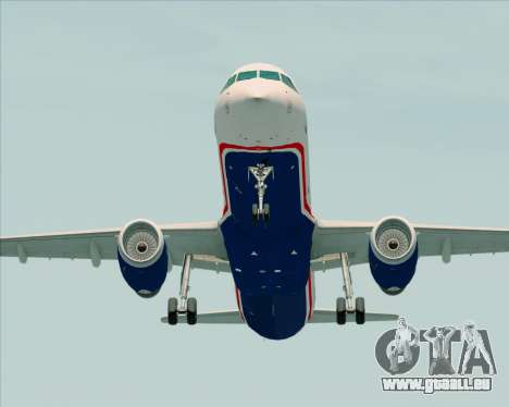 Airbus A321-200 US Airways für GTA San Andreas rechten Ansicht