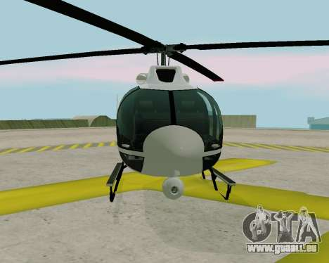 Maibatsu Frogger V1.0 pour GTA San Andreas laissé vue