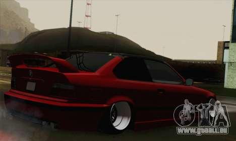 BMW M3 E36 Tuned für GTA San Andreas linke Ansicht