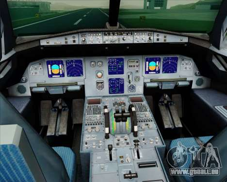 Airbus A321-200 LTU International für GTA San Andreas Innen