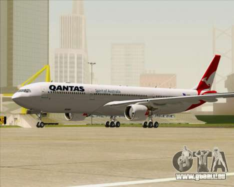 Airbus A330-300 Qantas (New Colors) für GTA San Andreas linke Ansicht