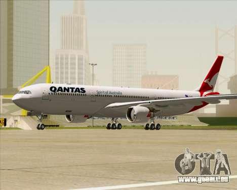 Airbus A330-300 Qantas (New Colors) pour GTA San Andreas laissé vue