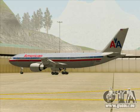Airbus A300-600 American Airlines pour GTA San Andreas roue