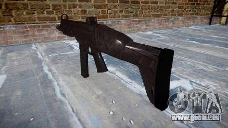 Pistolet SMT40 avec crosse icon2 pour GTA 4 secondes d'écran