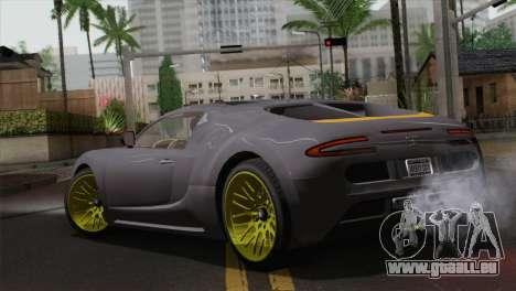 GTA 5 Adder (IVF) für GTA San Andreas linke Ansicht