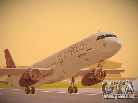 Airbus A321-232 Cyprus Airways pour GTA San Andreas
