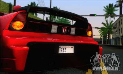 Honda NSX 2005 für GTA San Andreas linke Ansicht