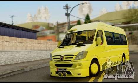 Mercedes-Benz Sprinter Eyüp Abgelaufen für GTA San Andreas