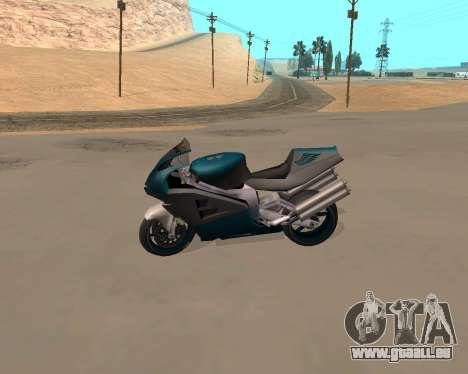 NRG-500 Winged Edition V.1 pour GTA San Andreas vue de côté
