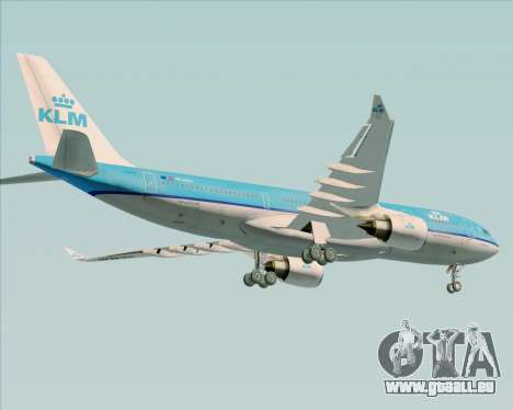 Airbus A330-200 KLM - Royal Dutch Airlines pour GTA San Andreas moteur