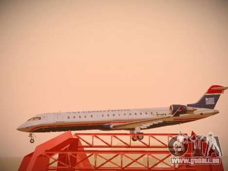 Bombardier CRJ-700 US Airways Express pour GTA San Andreas vue de côté