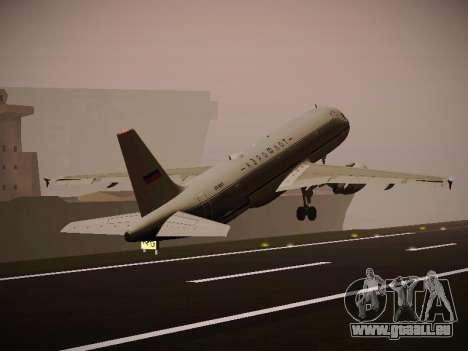 Airbus A320-214 Aeroflot Retrojet für GTA San Andreas