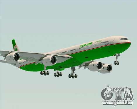 Airbus A340-600 EVA Air pour GTA San Andreas laissé vue