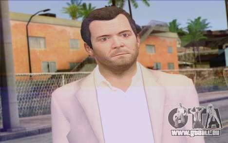 Michael from GTA 5 pour GTA San Andreas troisième écran