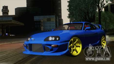 Toyota Supra Twin Turbo für GTA San Andreas