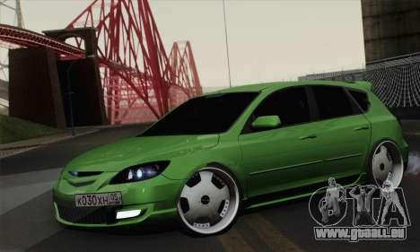 Mazda Speed 3 pour GTA San Andreas