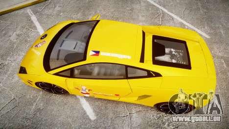 Lamborghini Gallardo 2013 HDD Honoka Kousaka für GTA 4 rechte Ansicht