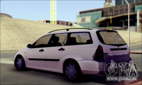 Ford Focus 1998 Wagon für GTA San Andreas linke Ansicht