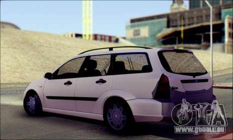 Ford Focus 1998 Wagon für GTA San Andreas linke Ansicht