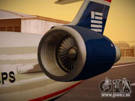 Bombardier CRJ-700 US Airways Express pour GTA San Andreas roue