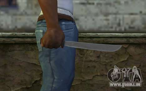 Machete (DayZ Standalone) v2 pour GTA San Andreas troisième écran