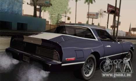 New Phoenix pour GTA San Andreas laissé vue